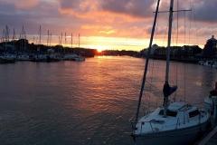 454 - Littlehampton at dusk
