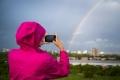 428 Autumn Rainbow over Portsmouth