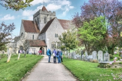 History & Lunch Group visit to BoxgroveChurch