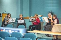 Recorder Ensemble: Playing live at Christ Church